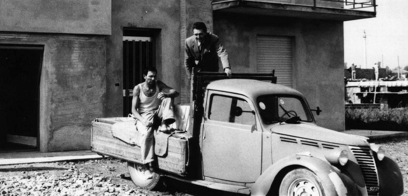 Luciano Govoni e Edgardo Schiavina