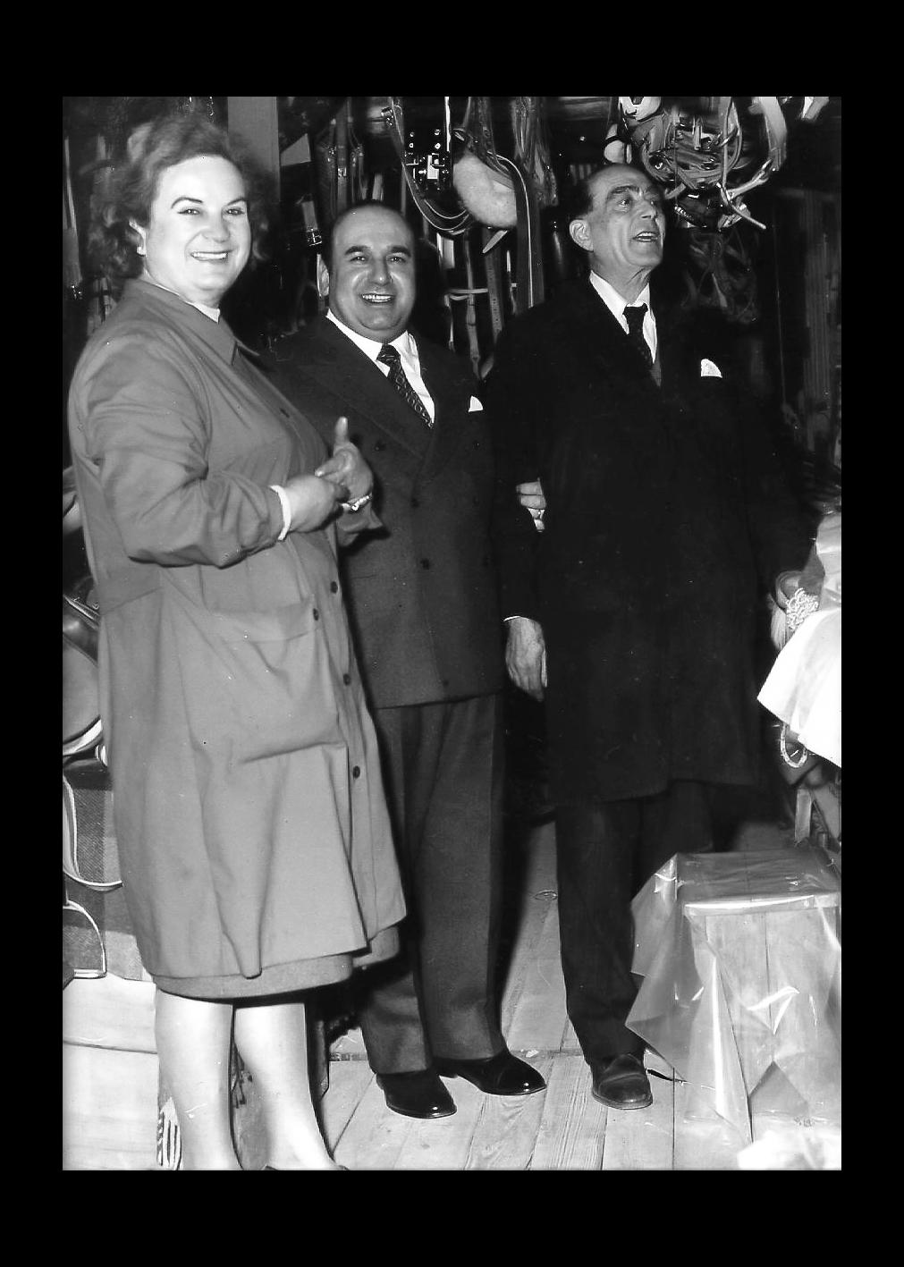 Teresa Meotti a Verona con Onorevole