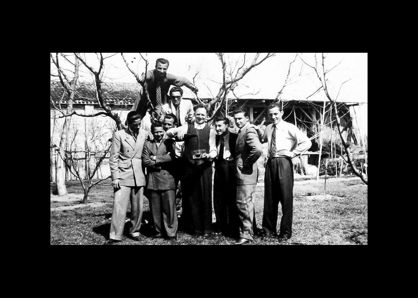 Ciro Minarelli con amici