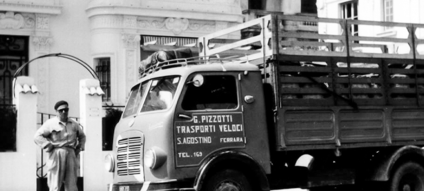 Giuseppe Pizzotti con Camion