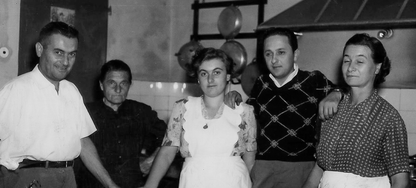"""1957 Trattoria """"La Rosa"""""""