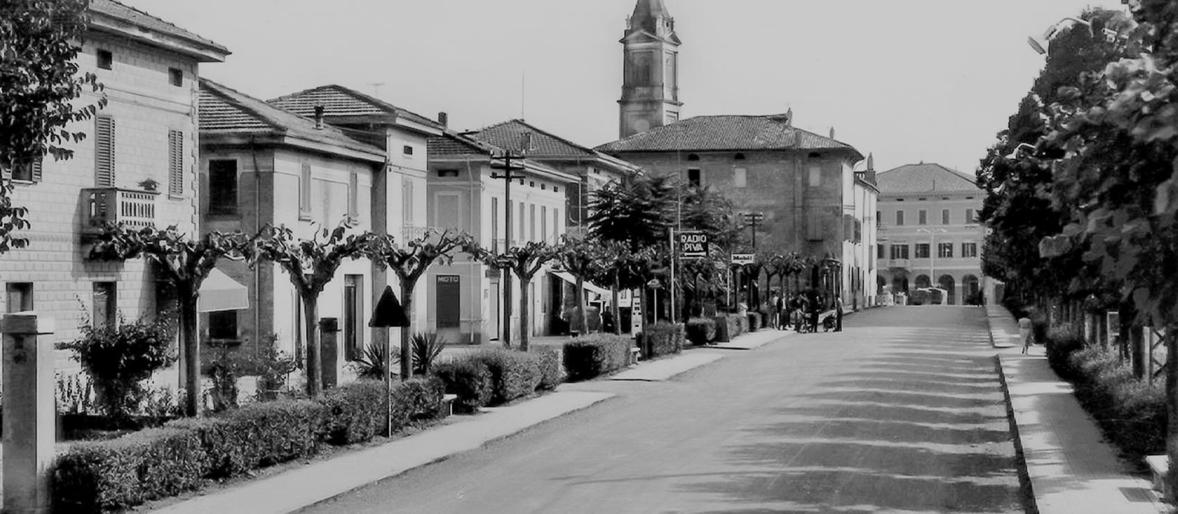 Corso Roma negli anni sessanta