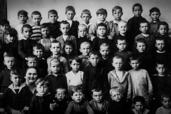 seconda elementare maschile 1927
