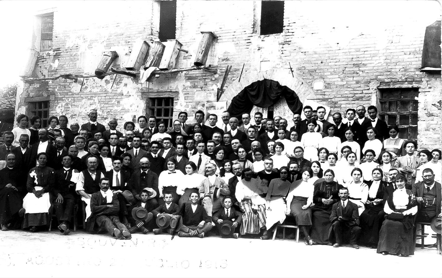 1913 Pranzo per Don Gaetano Balboni