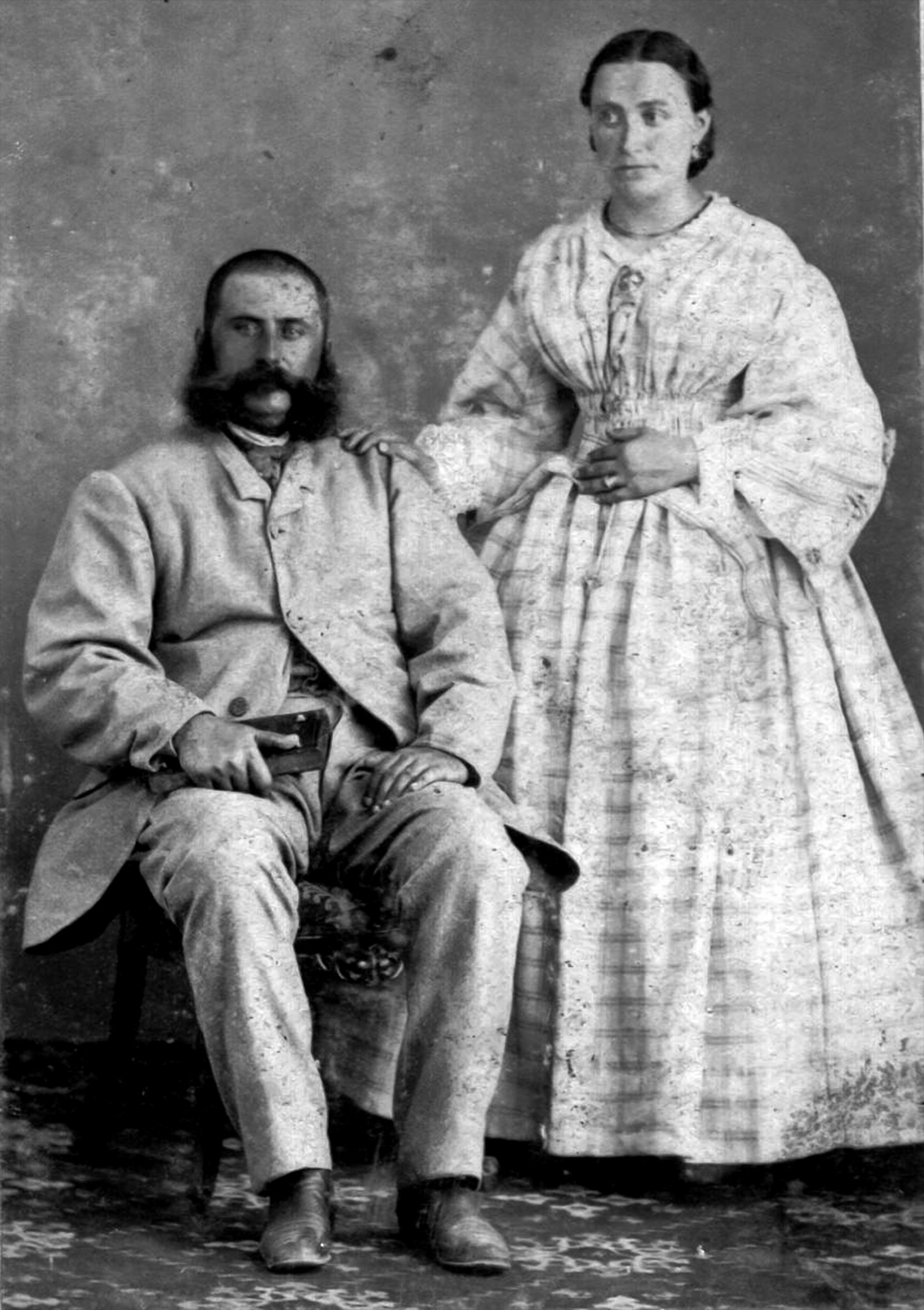 Natale Bitelli e Rosa Sandri