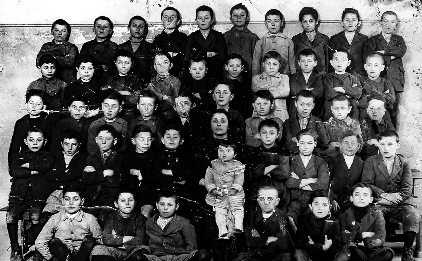 Classe 1922 maestra Fiorentini