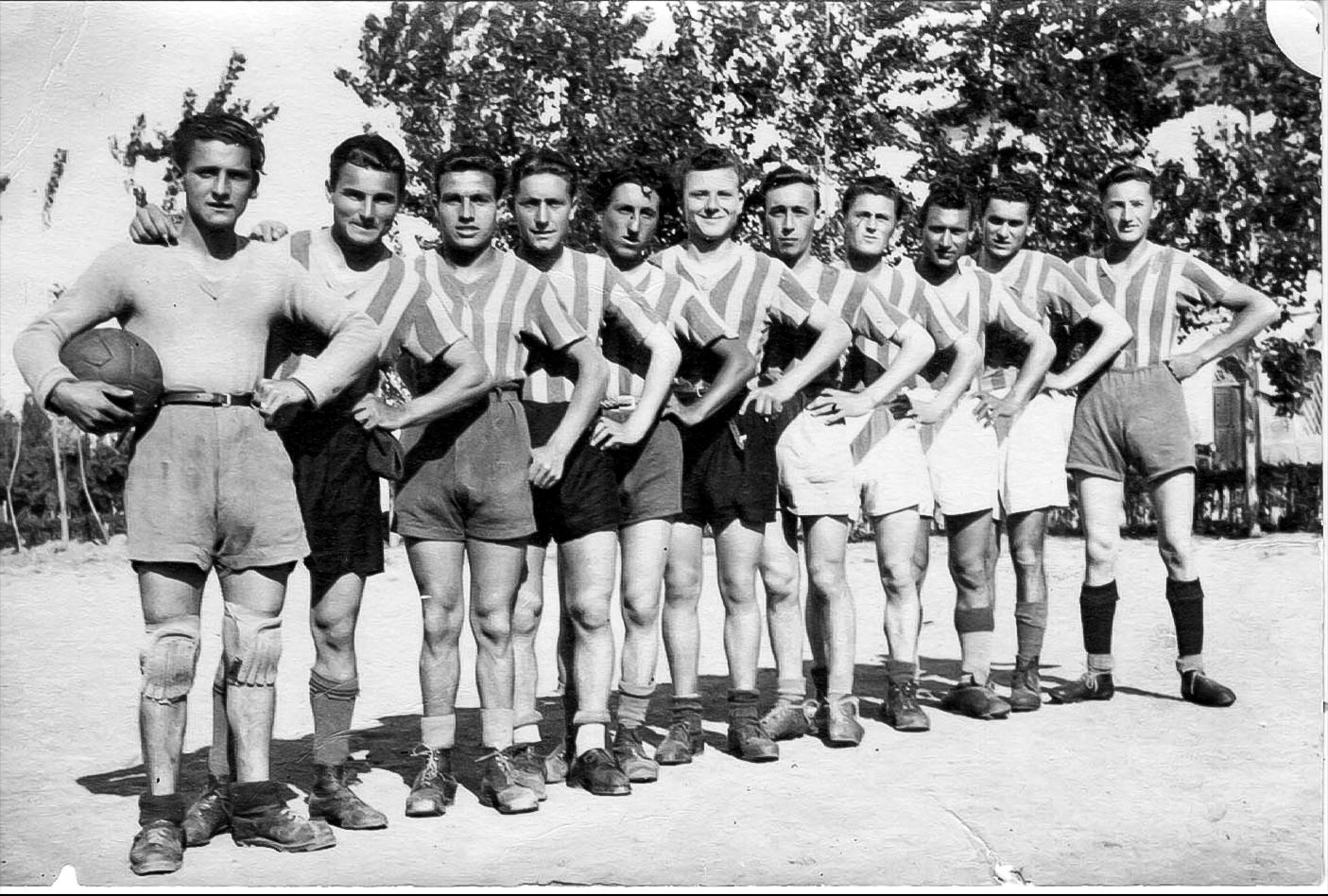 Partita  tra amici 1946