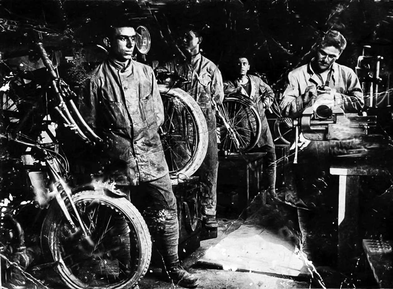 1919 Officina militare Vergnani