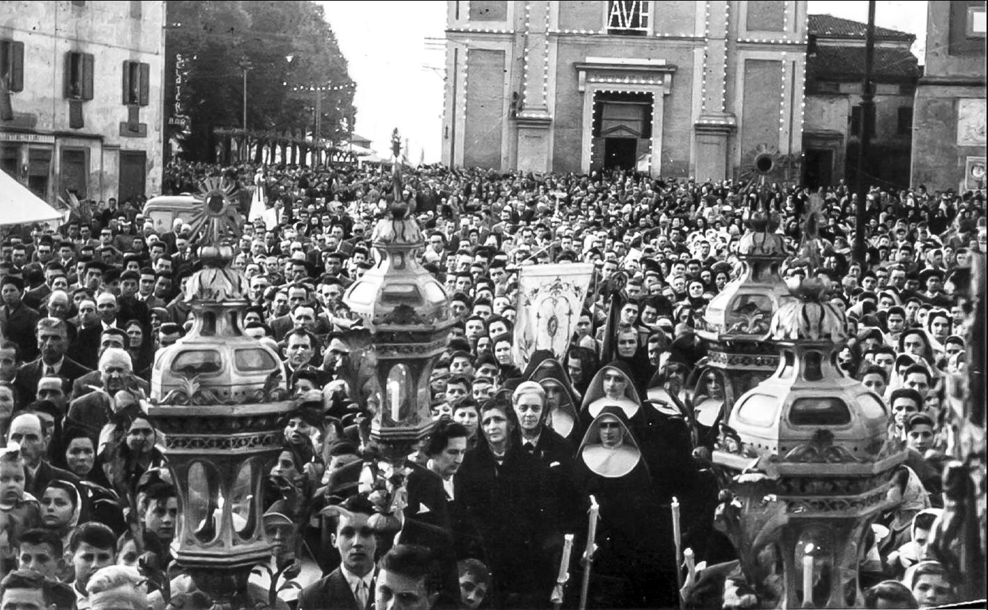 1954 XVII centenario agostiniano