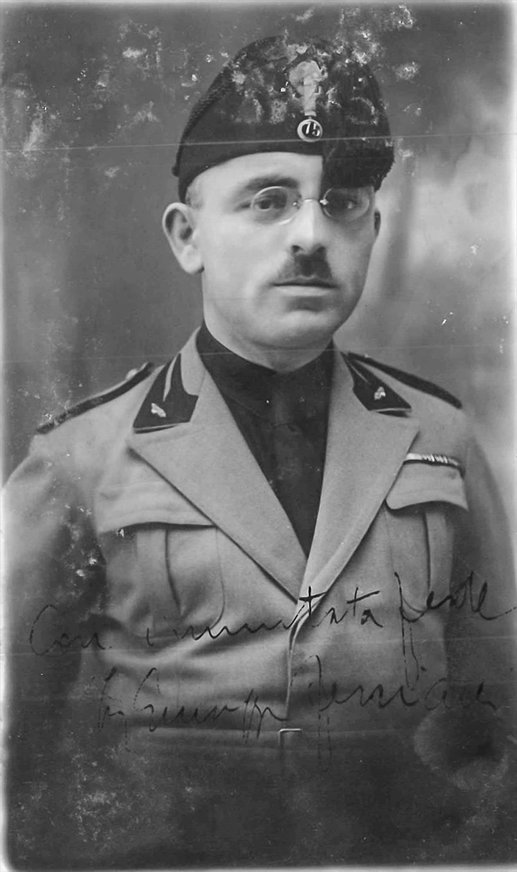 Gli ufficiali della fedelissima XX Dicembre a Italo Balbo – Ferriani