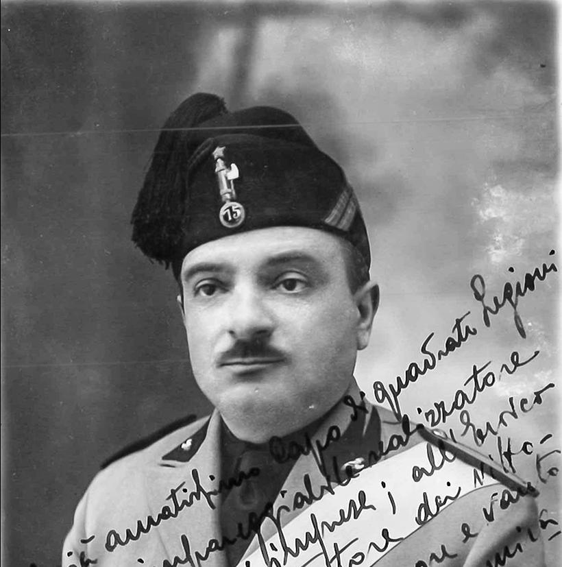 Gli ufficiali della fedelissima XX Dicembre a Italo Balbo – Baruffaldi