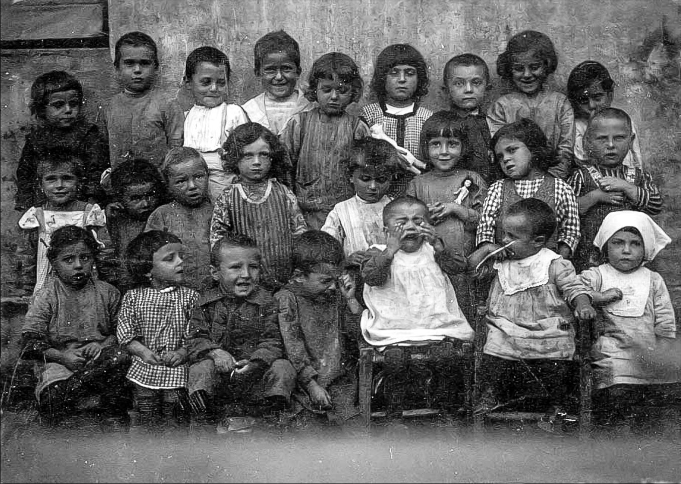 1920 I bambini di 'Marièna Tunèra'