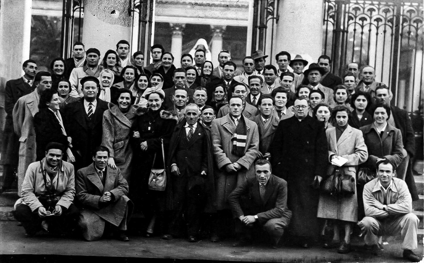 1950 Pellegrinaggio a Roma