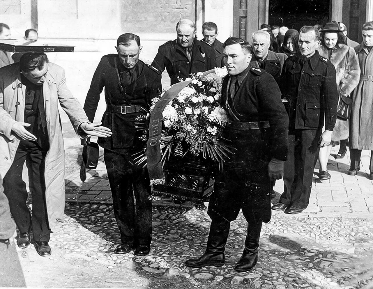 1941 Funerale Dosso