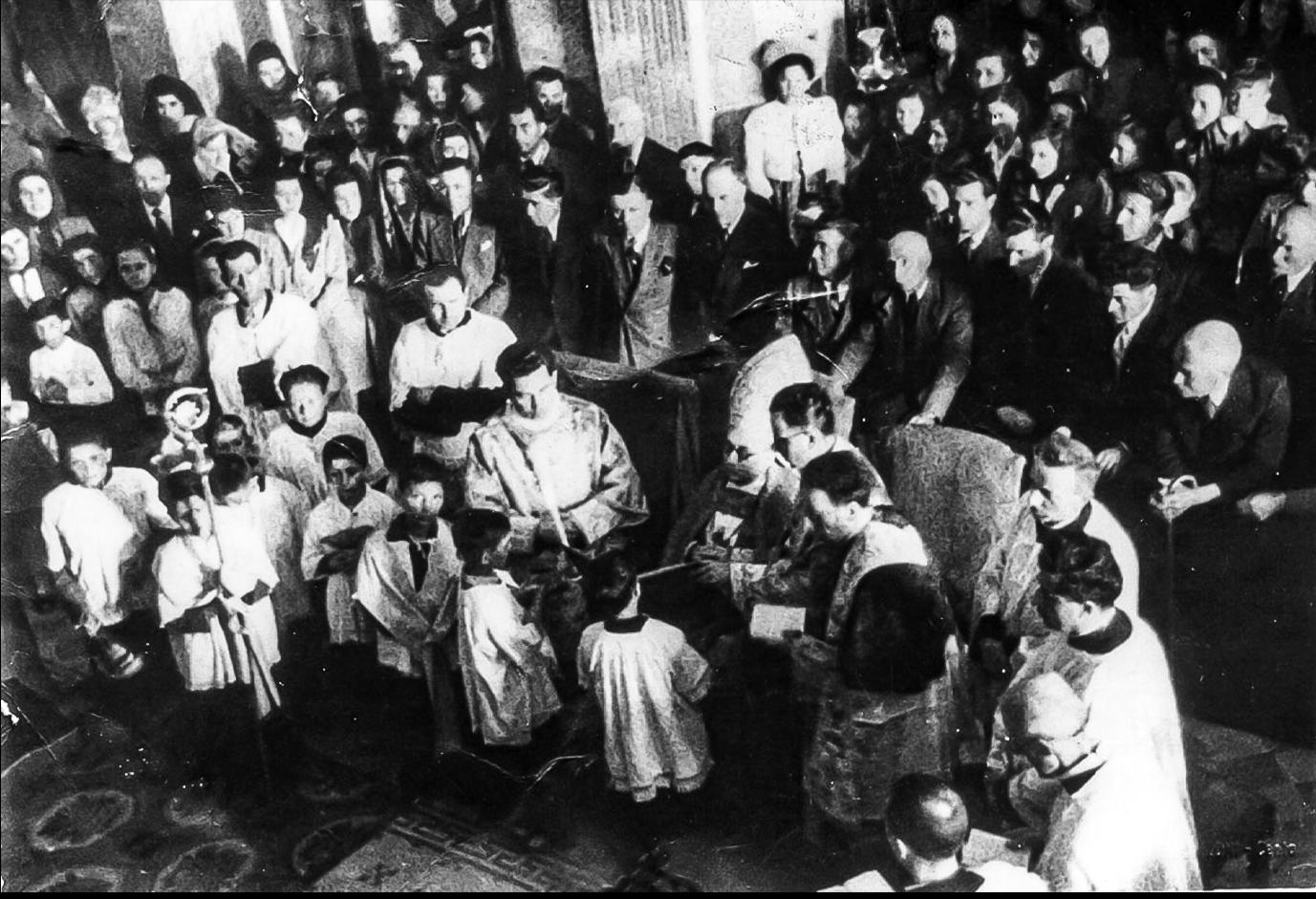 1947 Dosso inaugurazione campane