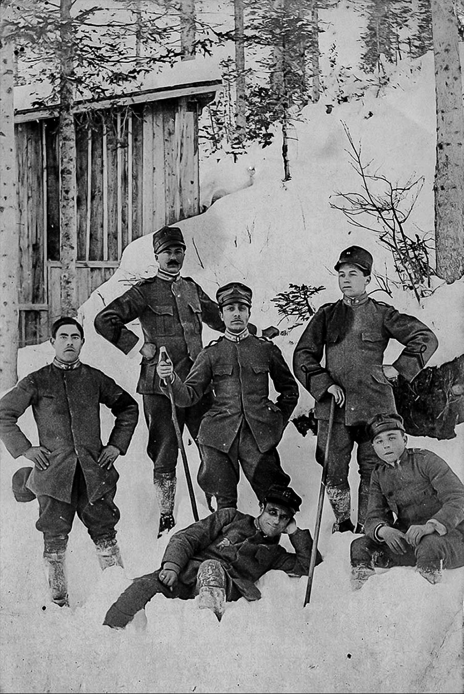 Soldati dossesi della Grande guerra
