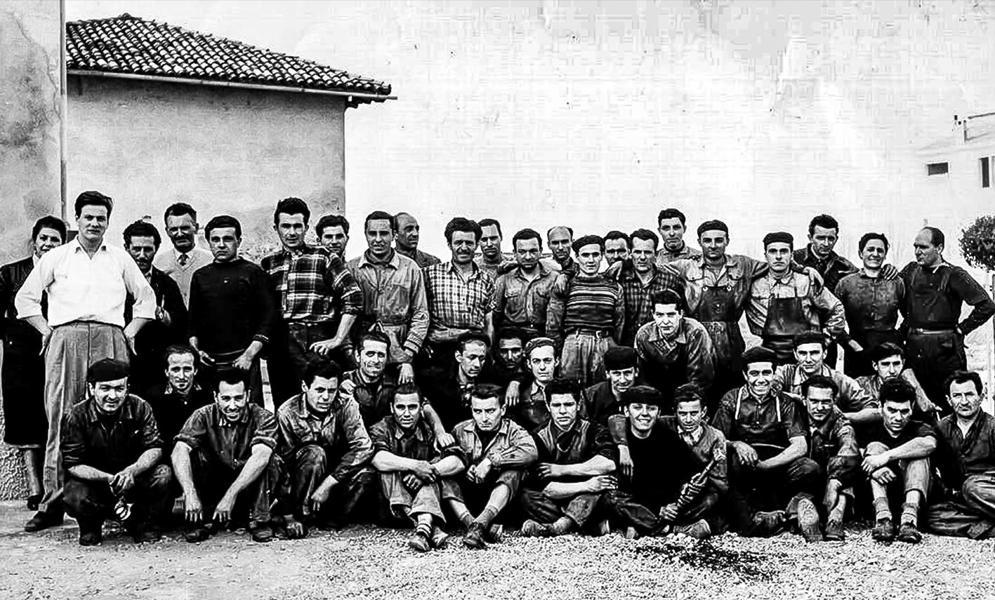 1953 'Ditta Aratri Nildo Schiavina' e maestranze