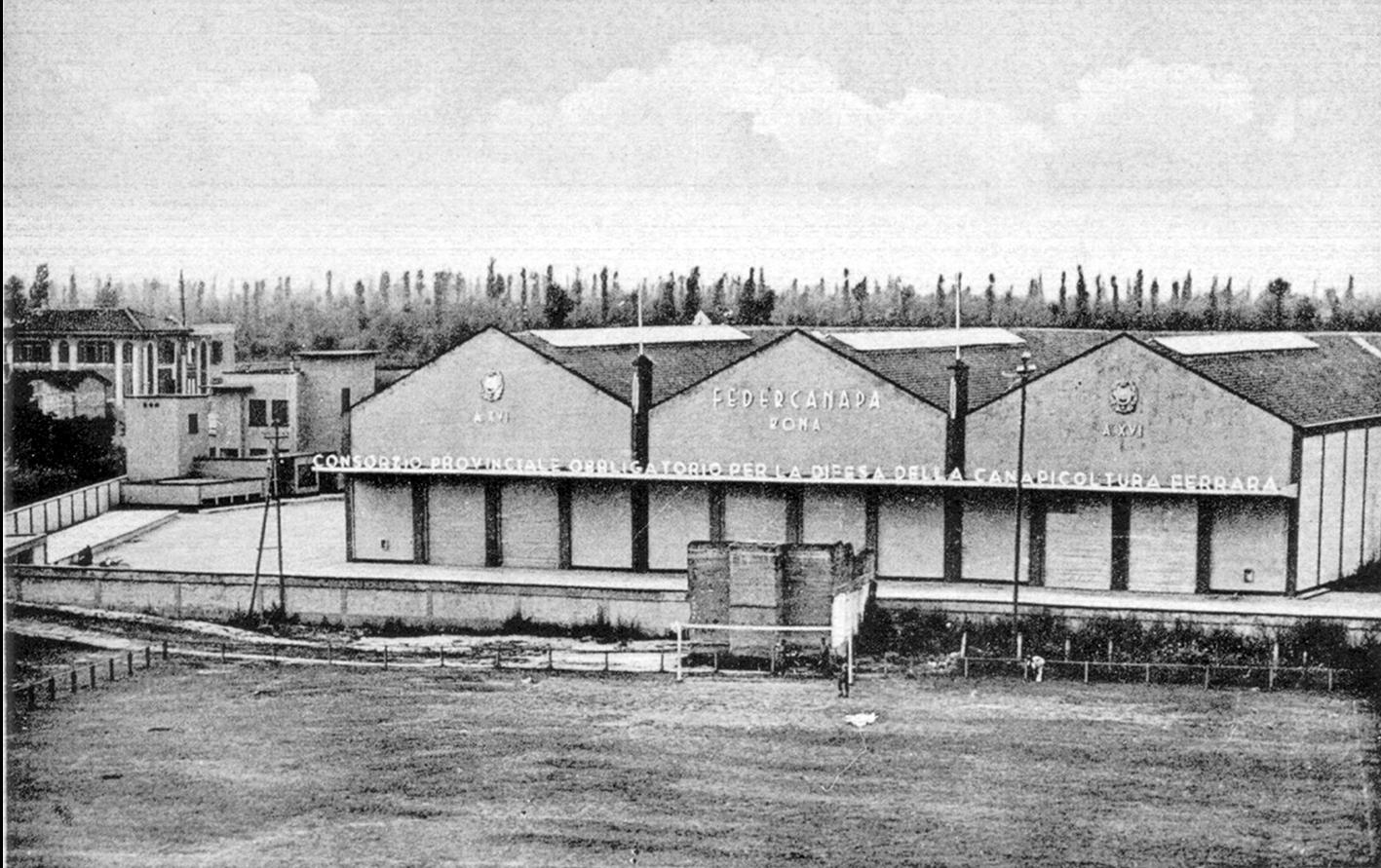 1940 Magazzino ammasso canapa