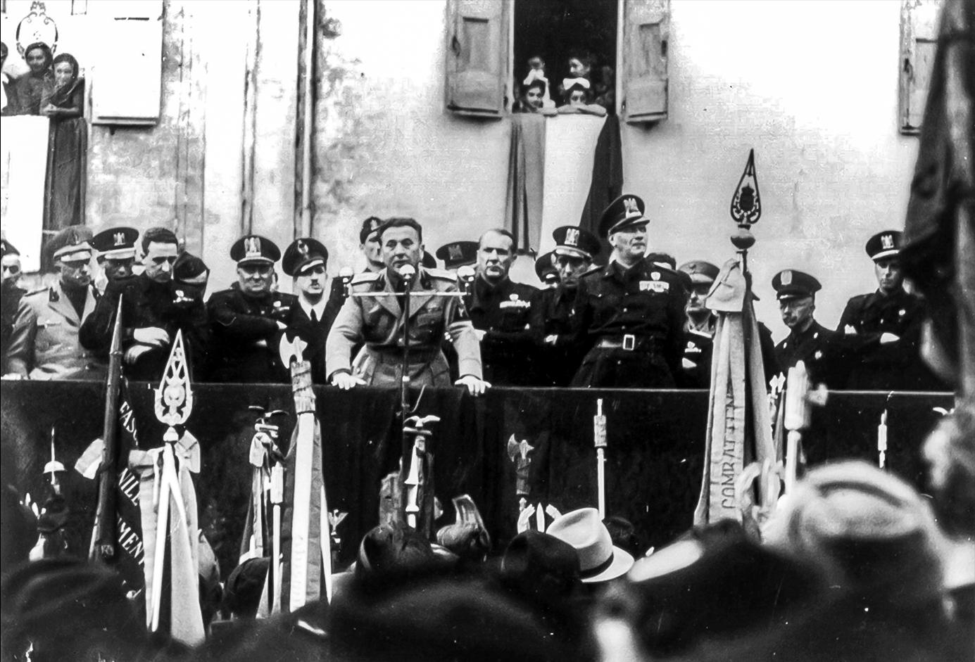 8 giugno 1941 visita Edmondo Rossoni