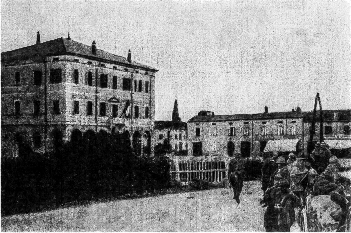 1917 Passaggio truppe
