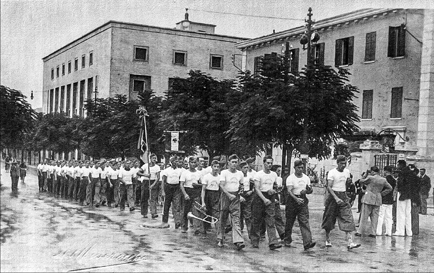1938 Aratri Pesci a Predappio