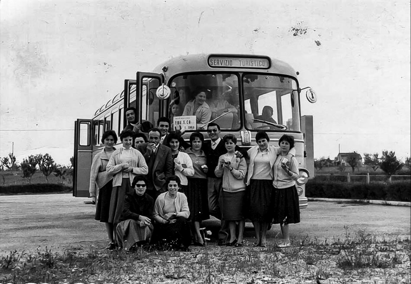 1955 gita dipendenti F.R.U.S.C.A.