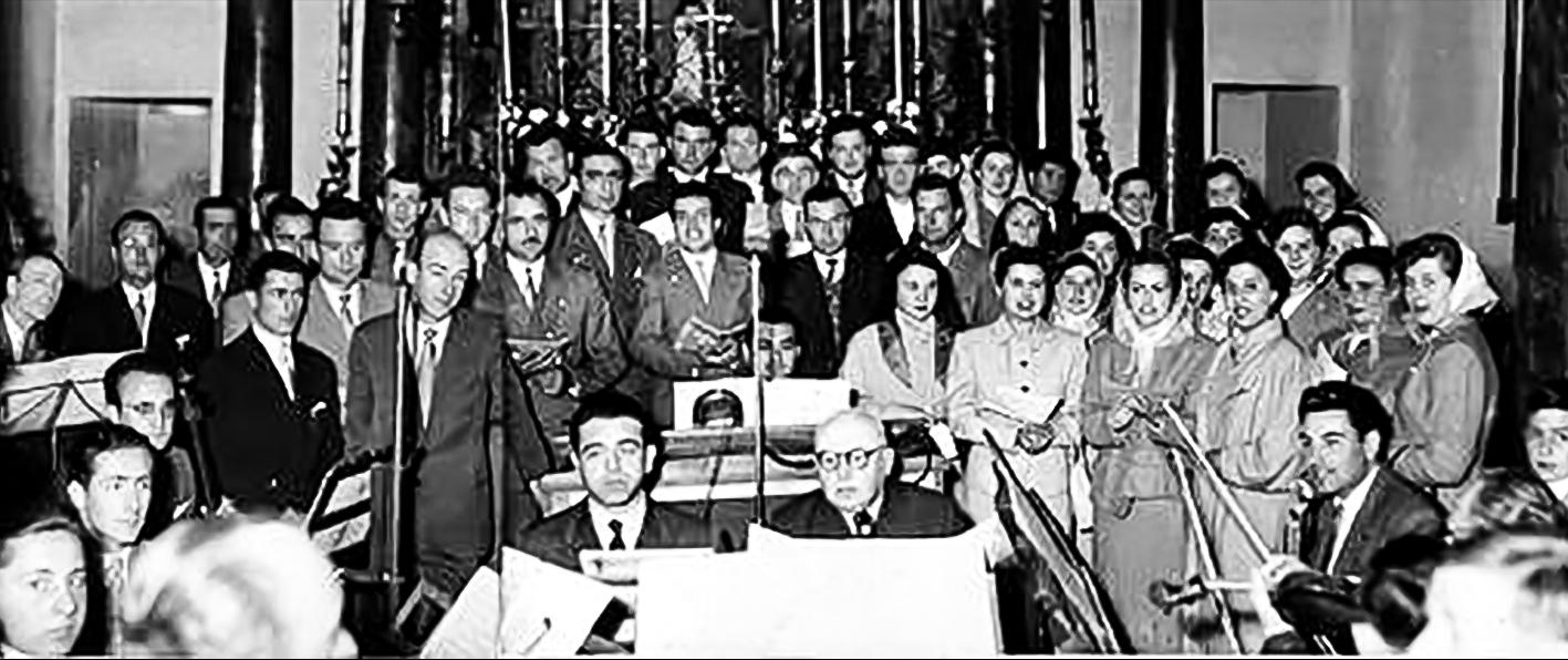 1952 Schola cantorum S.Agostino