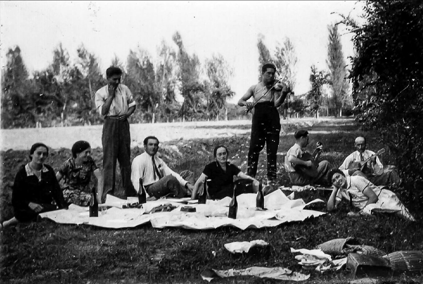 Pick nik nel bosco  anni '30