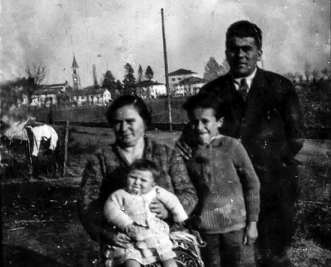 Famiglia Squarzola in Via Bassa
