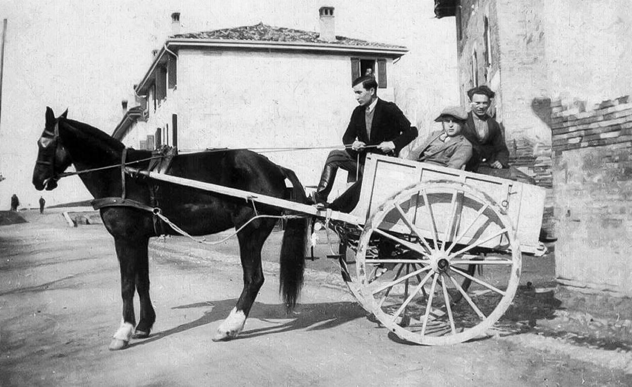 Renato Carletti Leardo  ( carretto con cavallo )