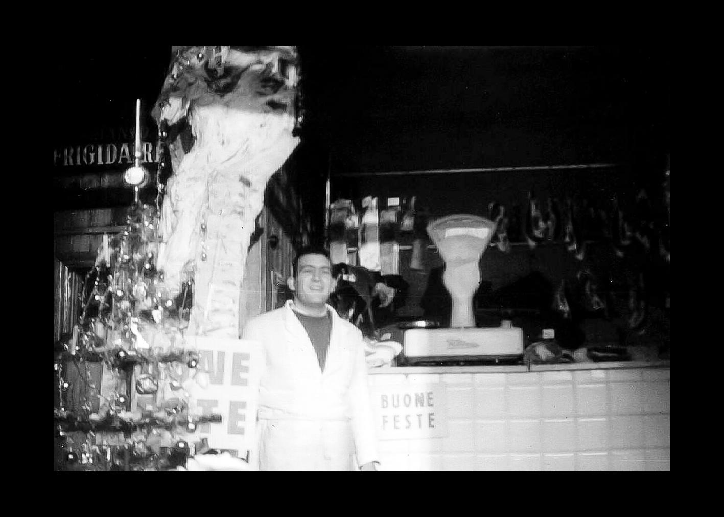 Vergnani Florio, foto in macelleria.