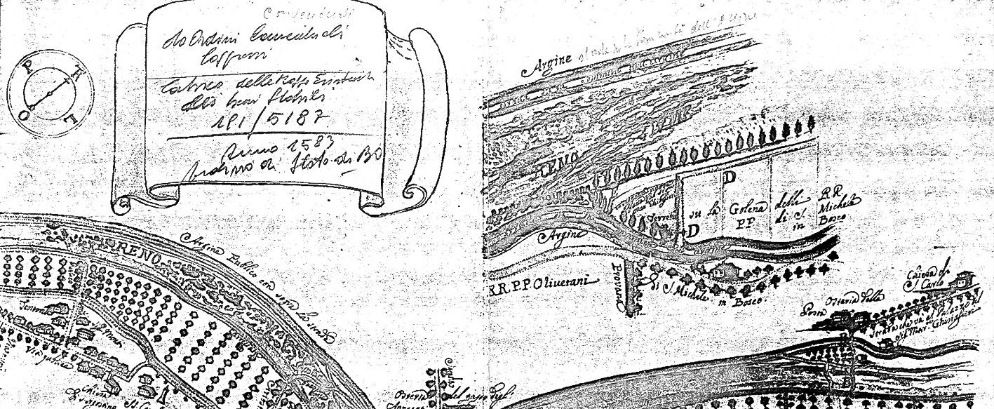 Mappa di S.Agostino del 1583