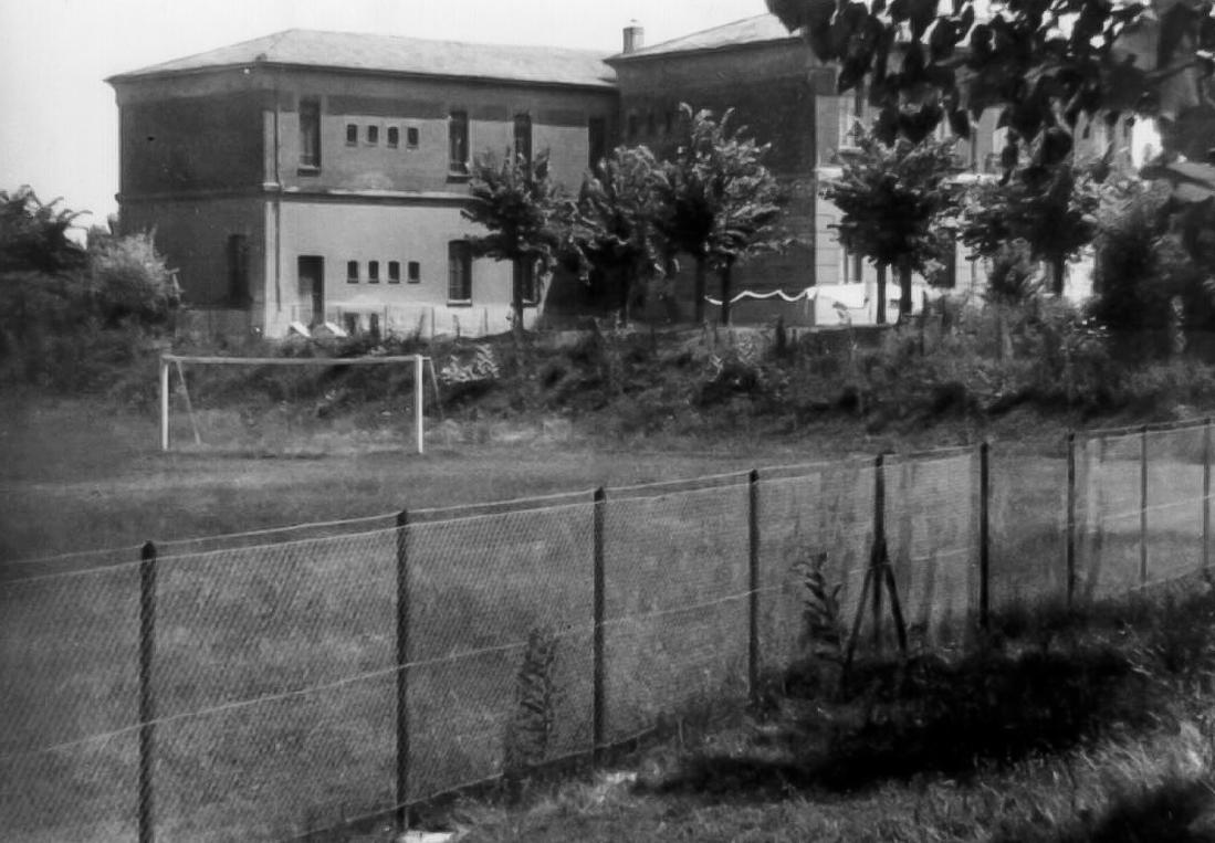 Campo sportivo anni '50