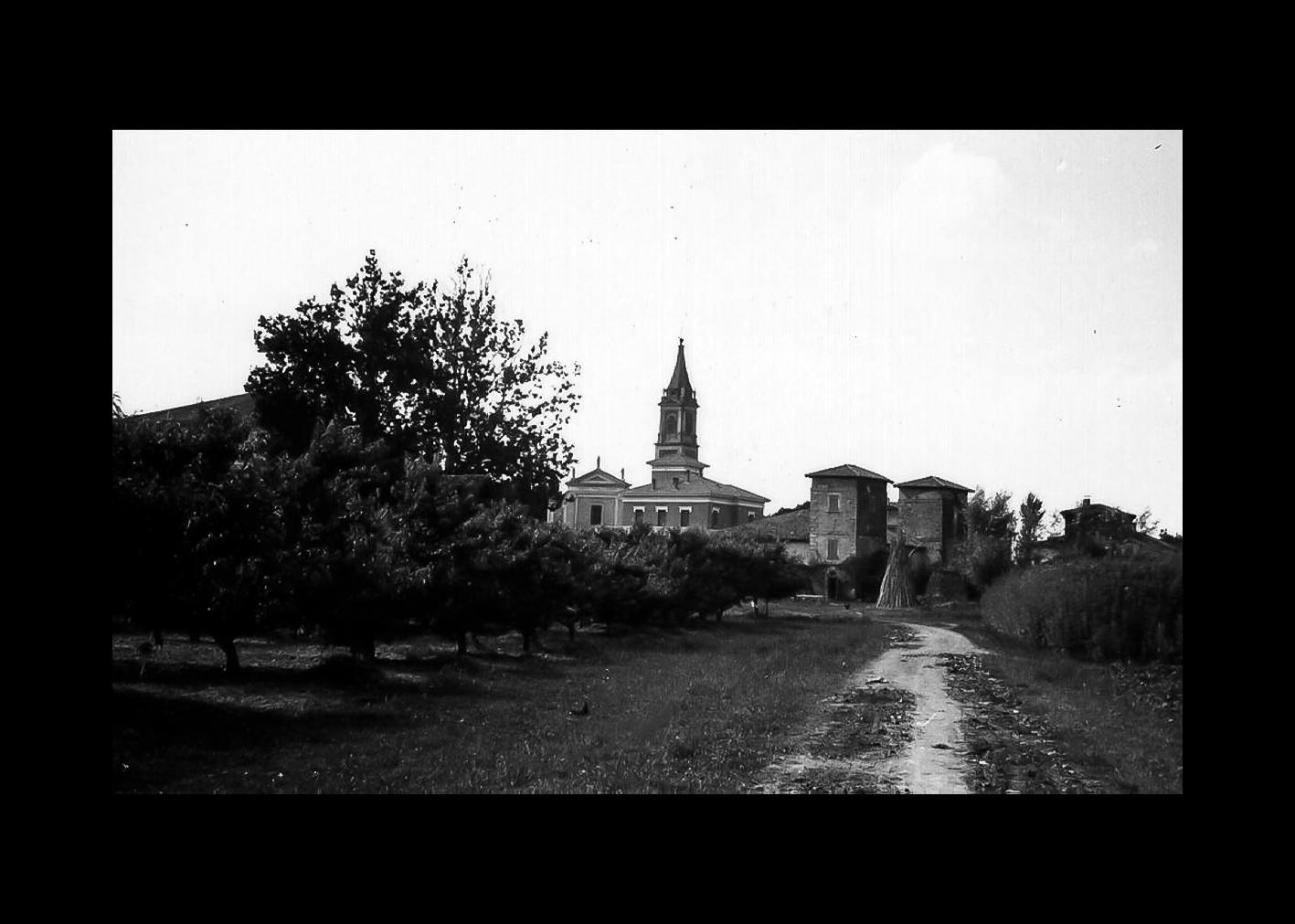 Veduta torri Fenati ( dalla Vallona)