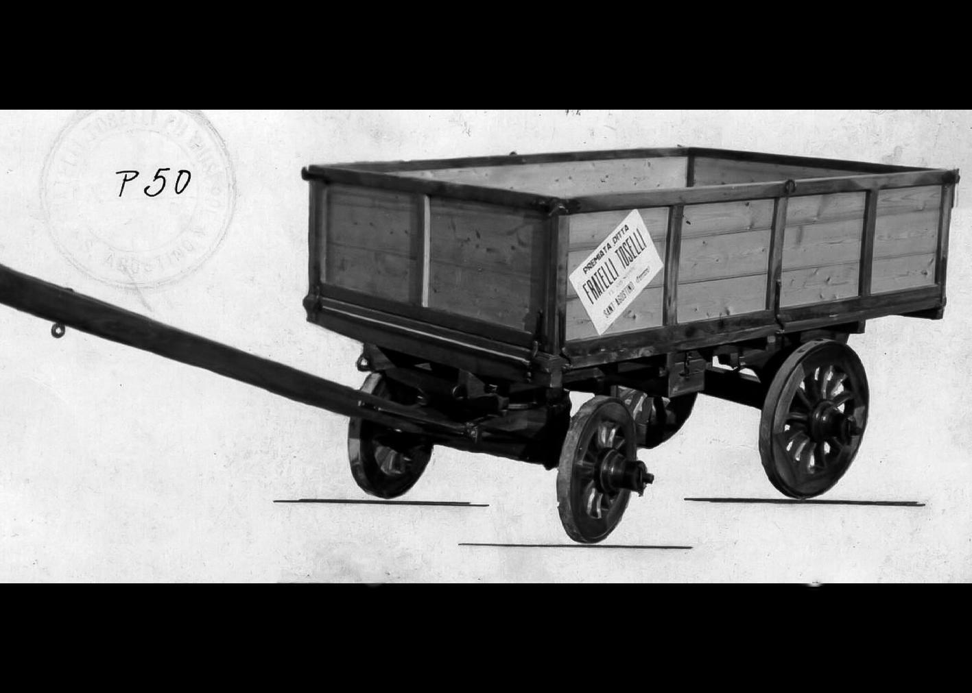 Carro trasporto bietole della Ditta F.lli Toselli. 1919