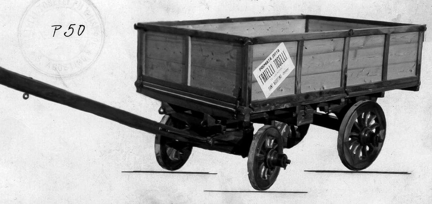 Carro trasporto bietole della Ditta F.lli Toselli 1919