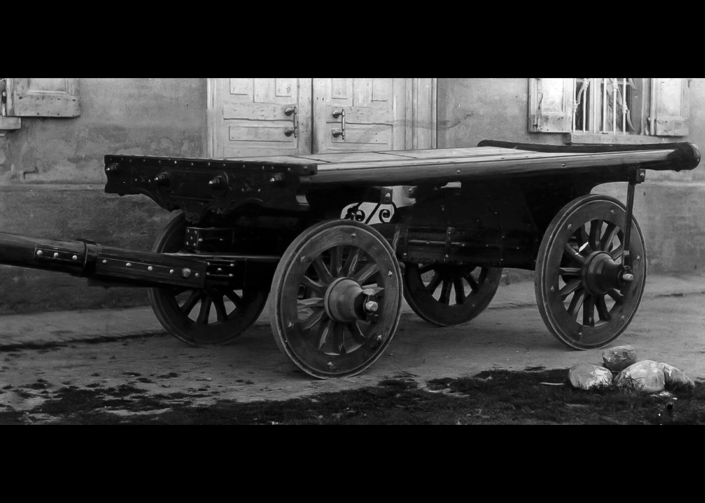 Carro agricolo costruito da Toselli Ariodante. 1926