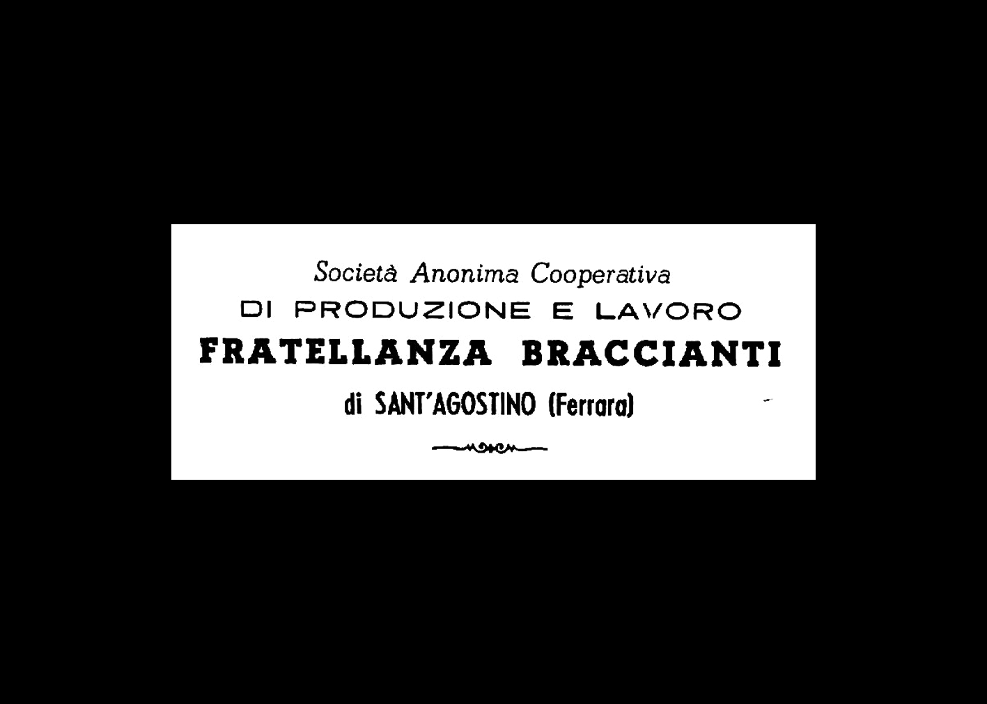 Logo della Coop Fratellanza Braccianti