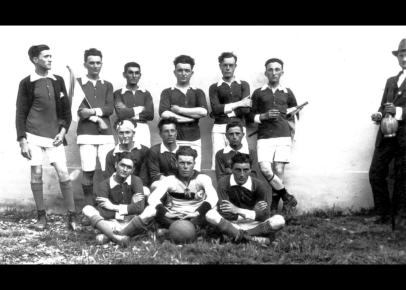 Formazione del C.S. S.AGOSTINO del 1920