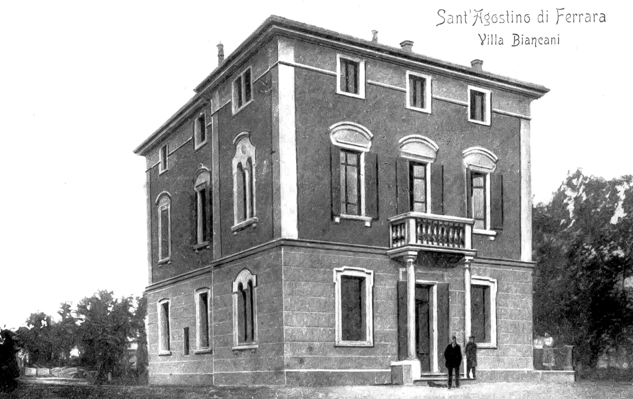 Villa Biancani all'inizio del secolo
