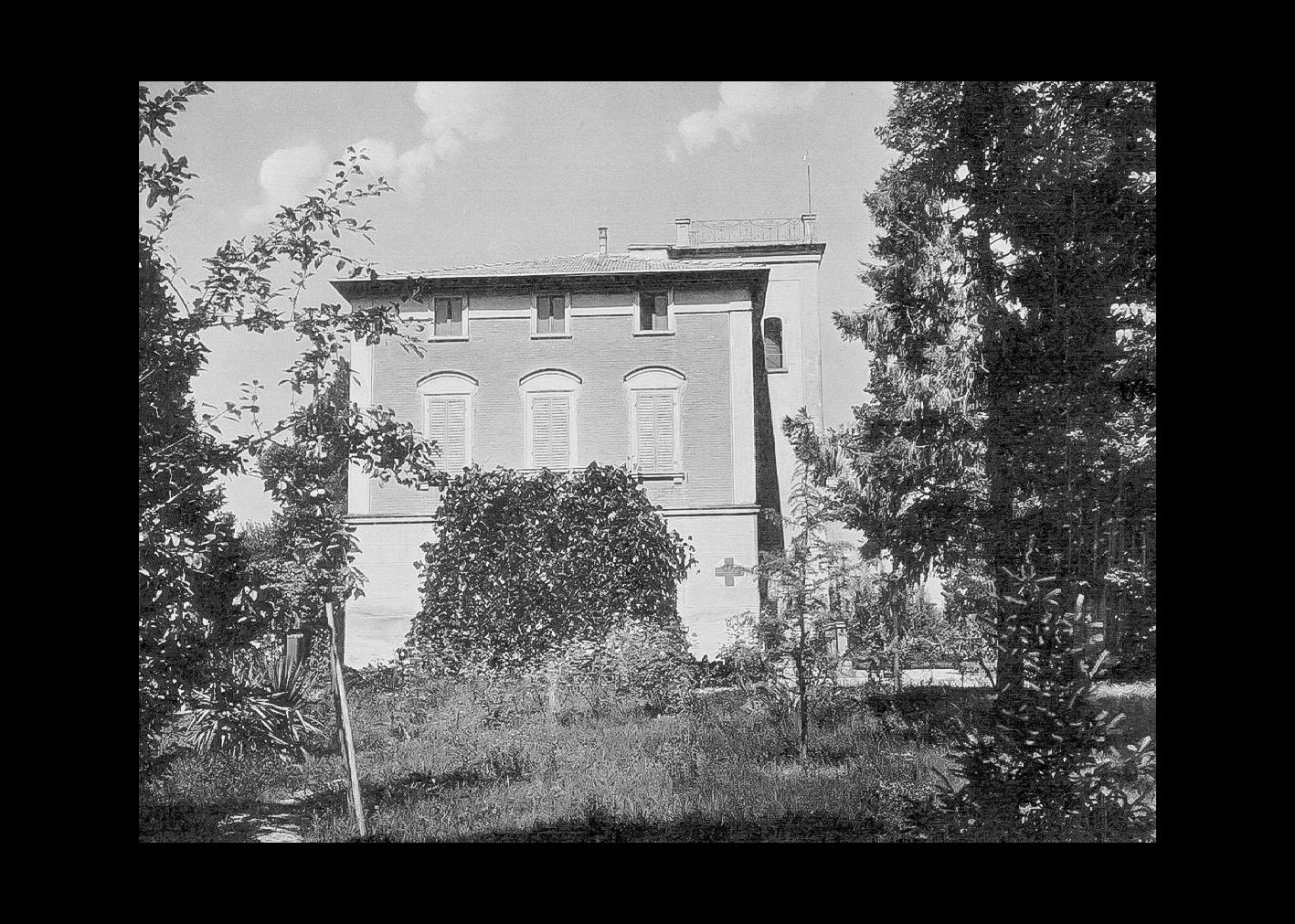 Villa Biancani negli anni quaranta