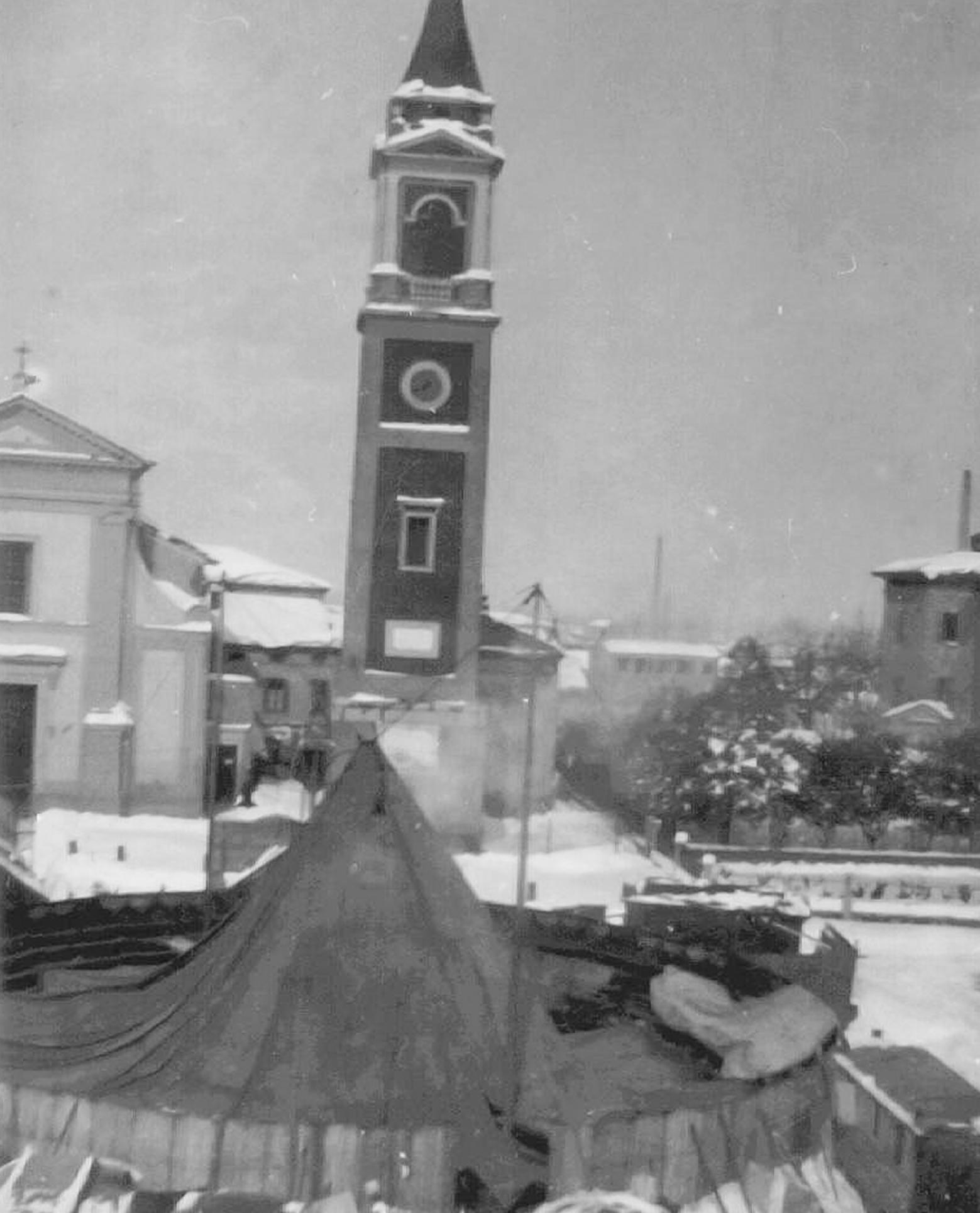 Il circo Orfei a S.Agostino negli Anni Venti