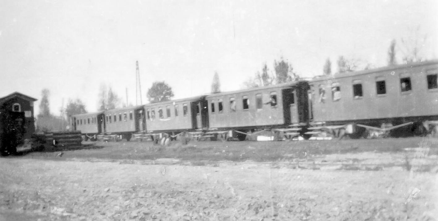 Vagoni Del Treno Negli Anni Trenta