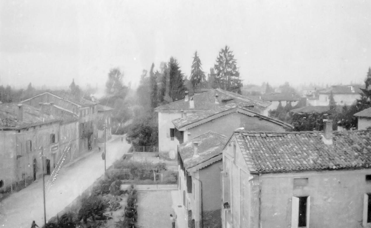 Via Bassa Vista dal palazzo comunale