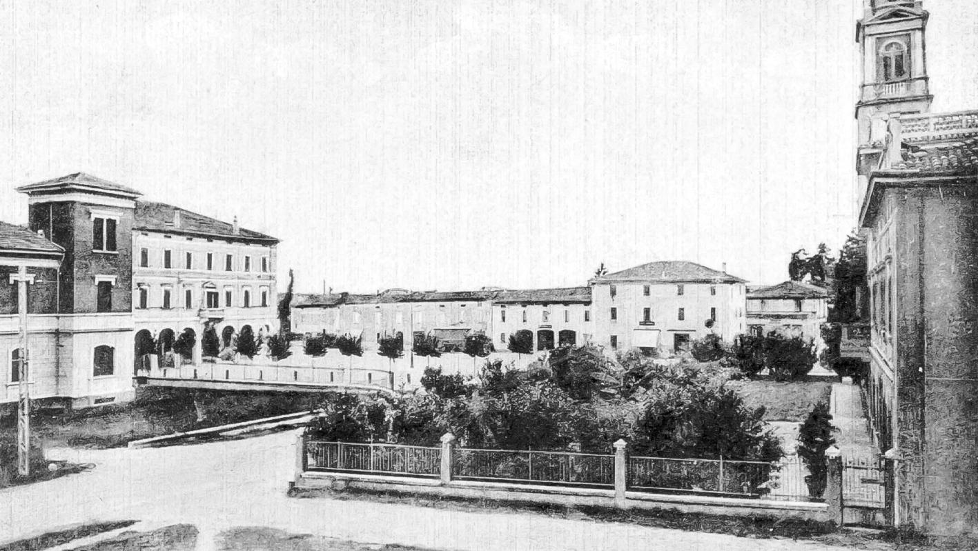 Piazza Marconi Vista da casa Vaccari