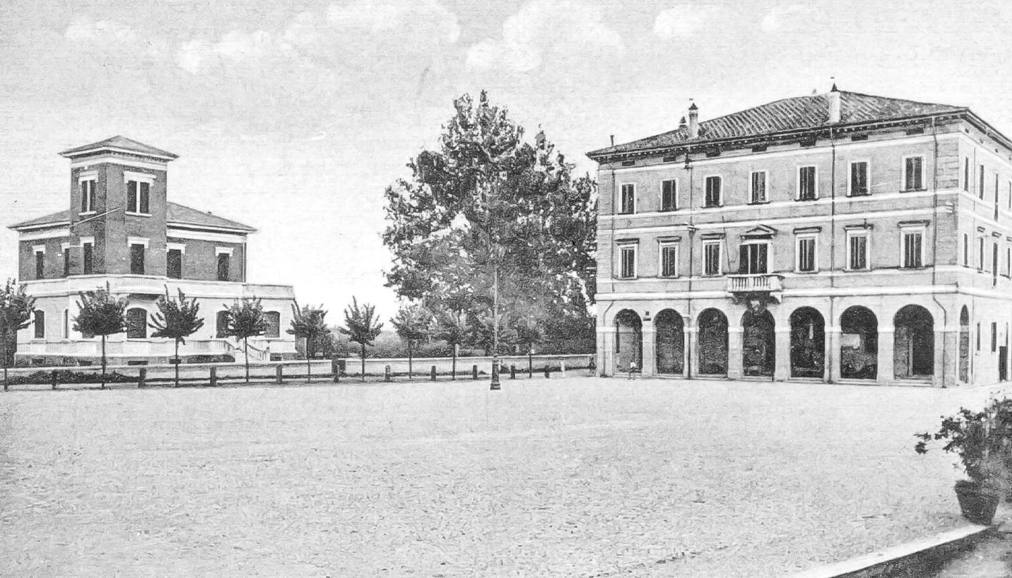 Piazza Marconi Vista Da Biancani