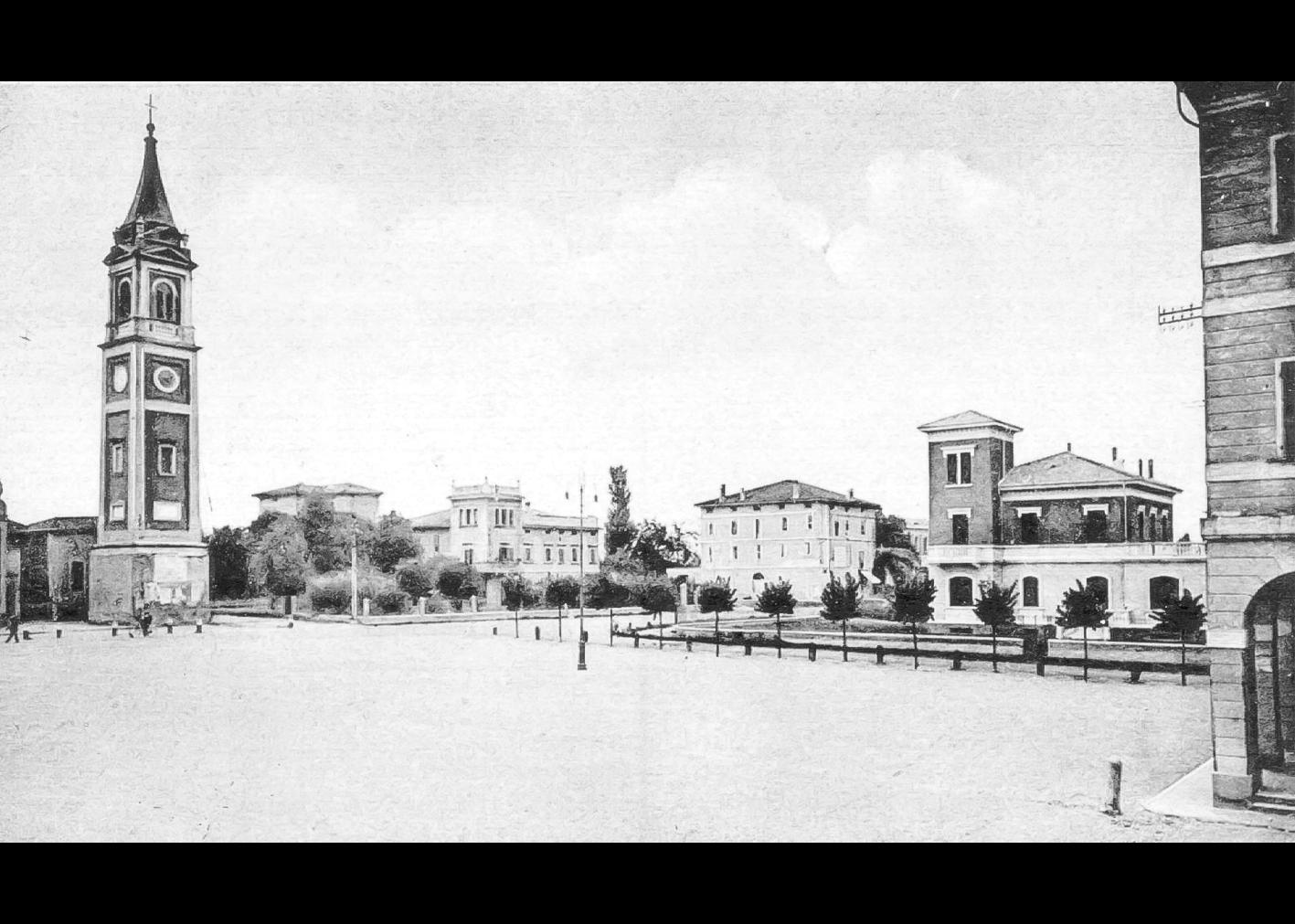 Piazza Marconi Vista Da Via Bassa