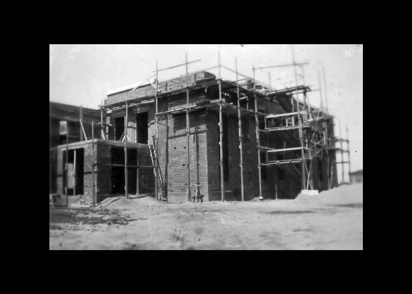 Casa del Fascio - costruzione