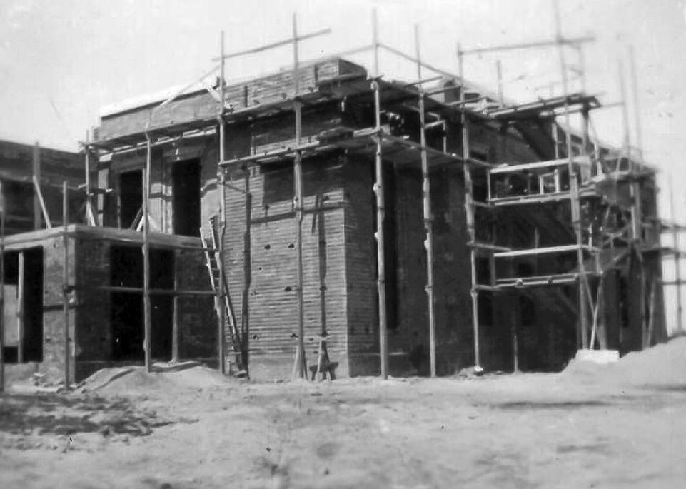 Casa Littoria – costruzione