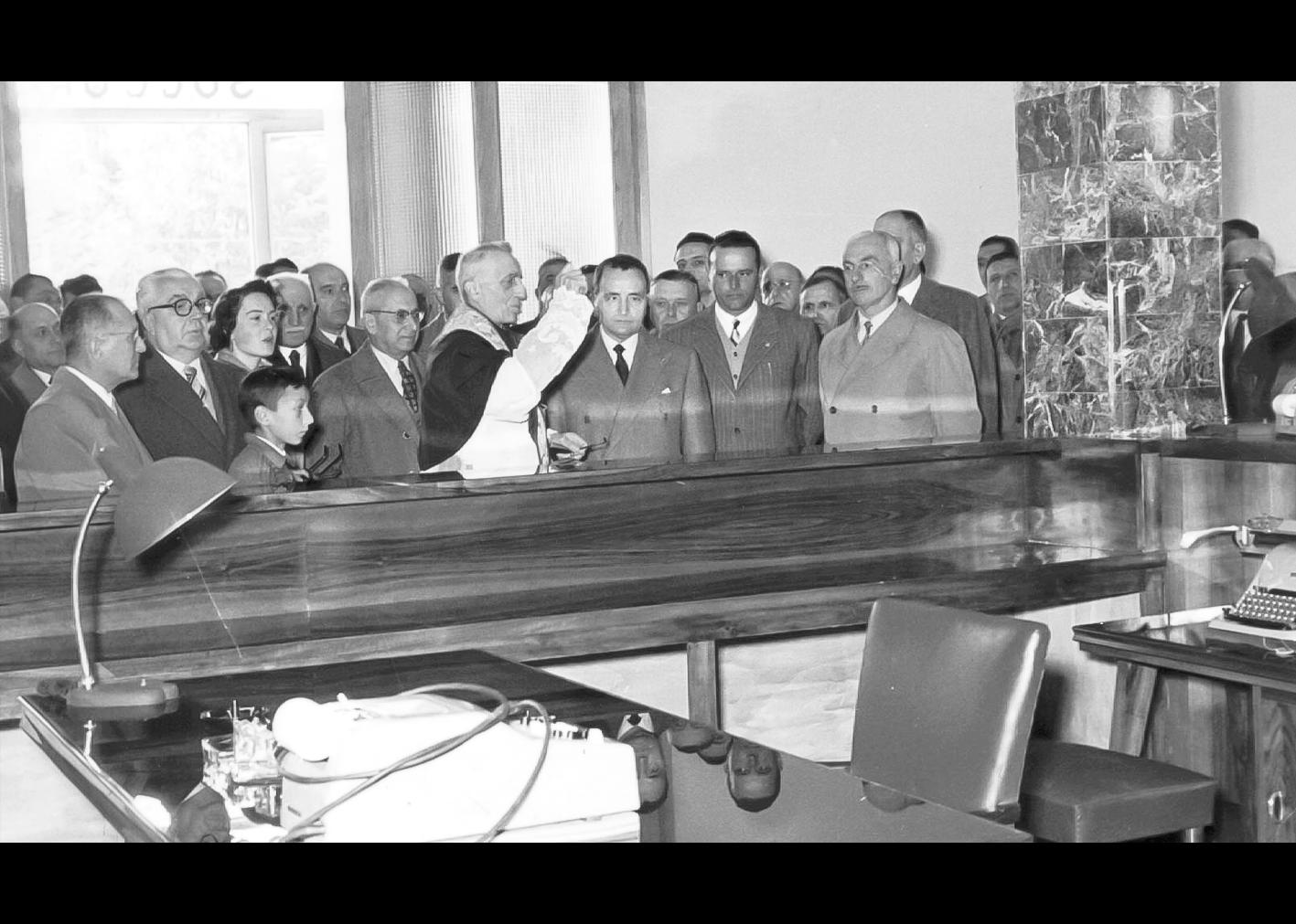 Inaugurazione Cassa di Risparmio di Cento